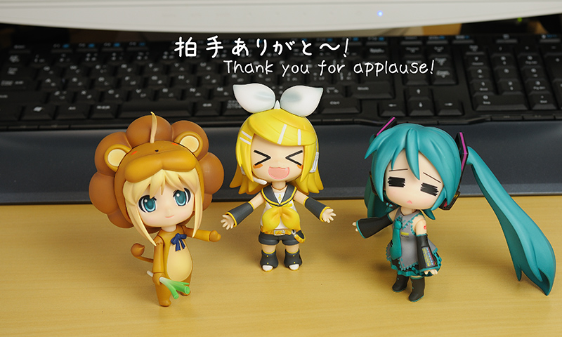 Thank you for applause!